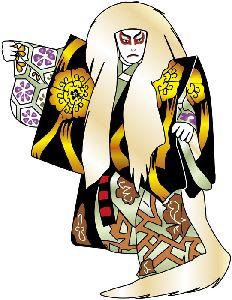 歌舞伎の獅子の画像