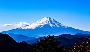 富士山の写真画像