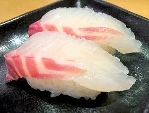 握り寿司2貫の写真画像