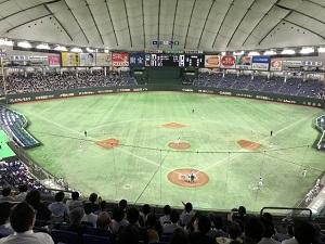 東京ドームの内部画像