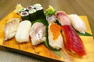 食欲をそそる「握り寿司」の画像